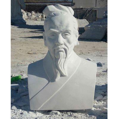 汉白玉祖冲之胸像石雕校园古代名人石雕