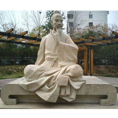 祖冲之石雕,校园名人石雕