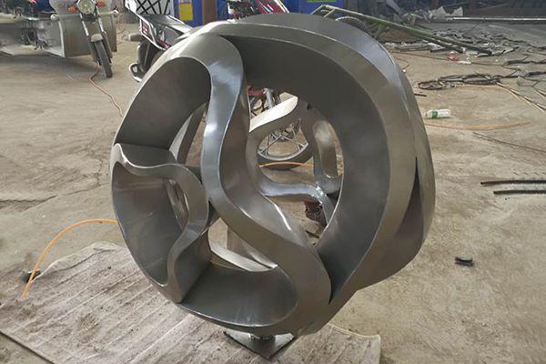不锈钢抽象圆球