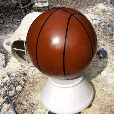 玻璃钢篮球雕塑 (1)