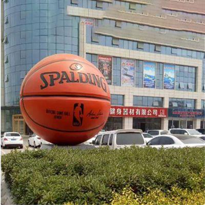 玻璃钢篮球雕塑 (2)