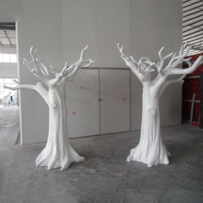 玻璃钢树雕塑 (1)