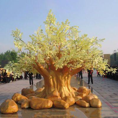 玻璃钢树雕塑 (3)
