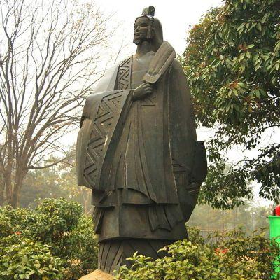 诸葛亮石雕 (1)