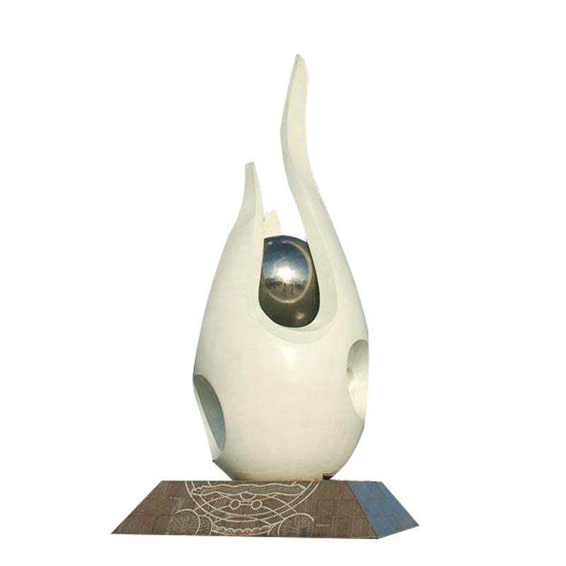 不锈钢白天鹅 广场景观雕塑