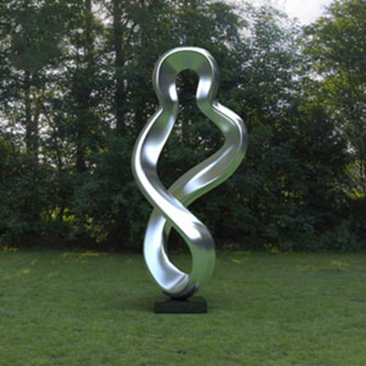 不锈钢空心景观雕塑