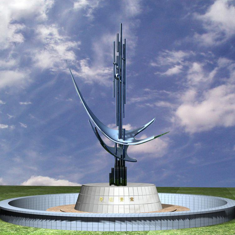 景观不锈钢创意雕塑