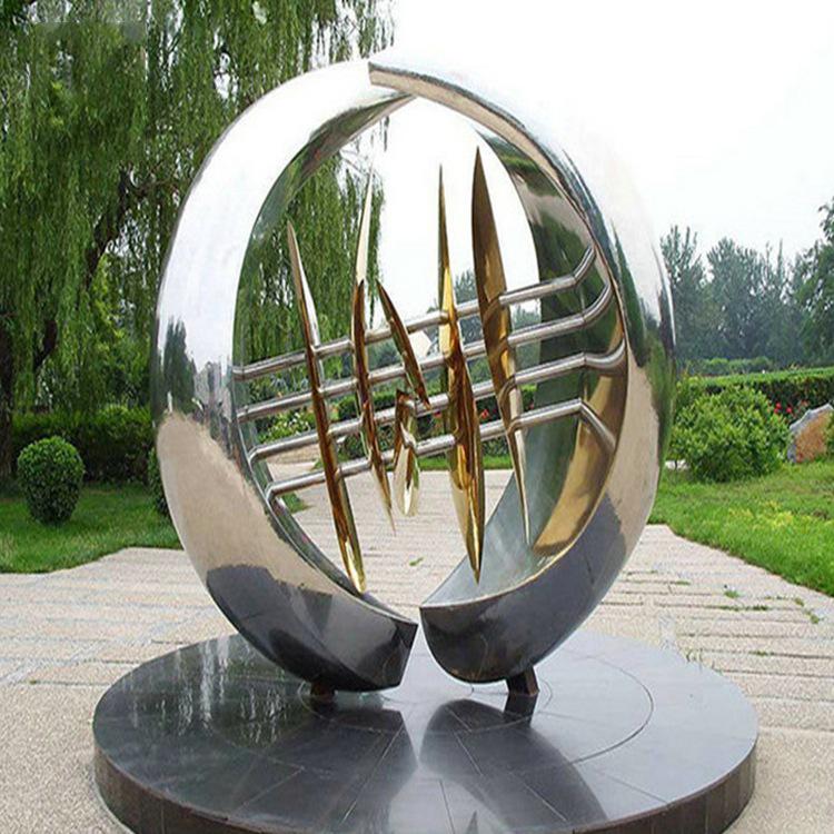 不锈钢户外景观装饰雕塑