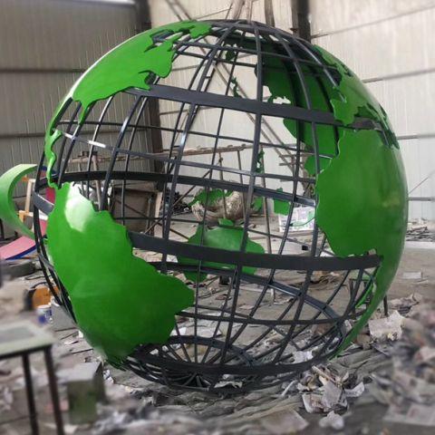 不锈钢几何景观镂空球