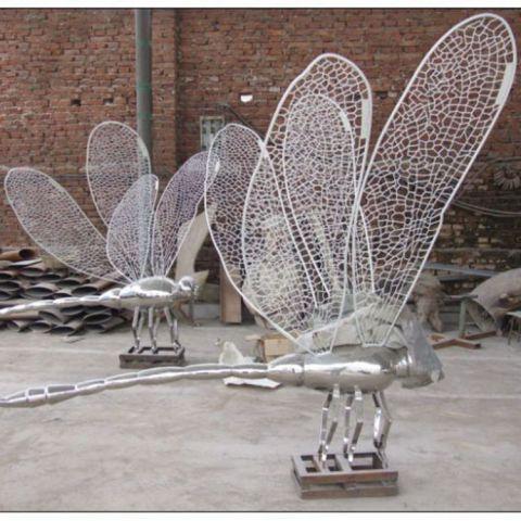 不锈钢蜻蜓镂空动物