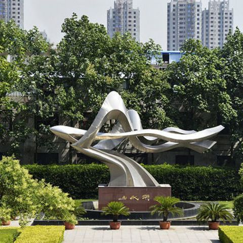 不锈钢装饰景观雕塑