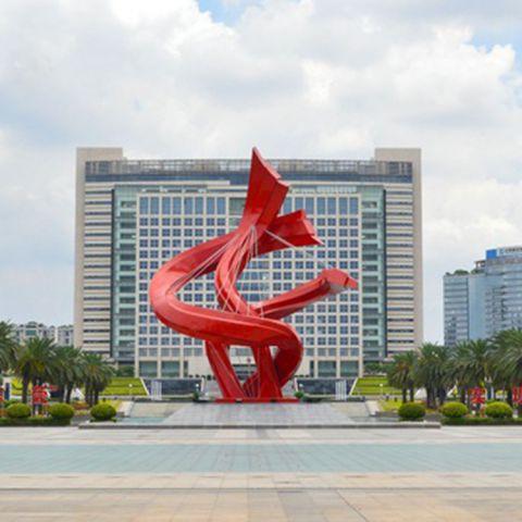 不锈钢创意景观雕塑