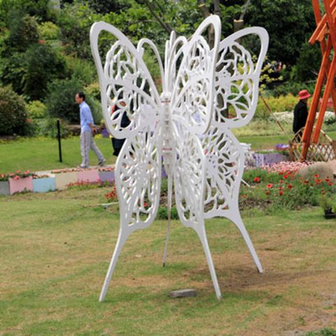 不锈钢景观蝴蝶雕塑