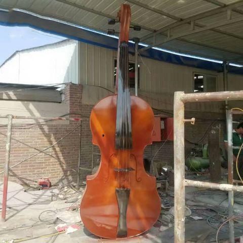 不锈钢仿真乐器小提琴